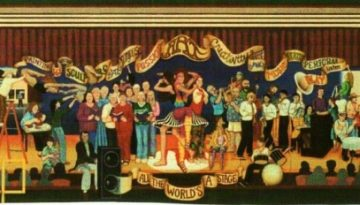 All_the_Worlds_a_Stage_Mural_Estacada