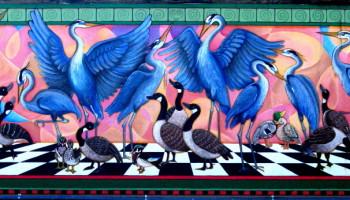 Bird_Party_Mural_Estacada_Skate_Park