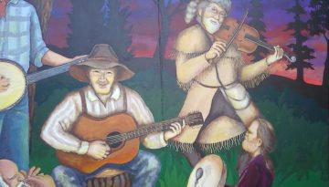 Evening_on_Barlow_Road_Estacada_Mural